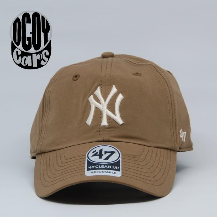 925ff0eb33f Jual Authentic New York Yankees  47 brand CLEAN UP cap - Brown ...