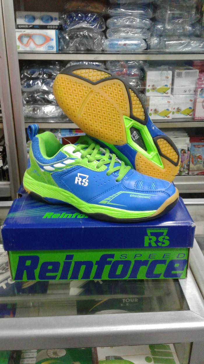 harga Sepatu badminton bulutangkis rs jeffer 797 original Tokopedia.com . 9f945fece4