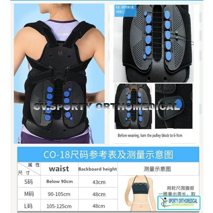 Jual Thoracal Lumbar Orthosis Brace /TLSO Brace/korset Tulang Belakang Back  - Kab  Wonogiri - Kaki Palsu Wonogiri | Tokopedia