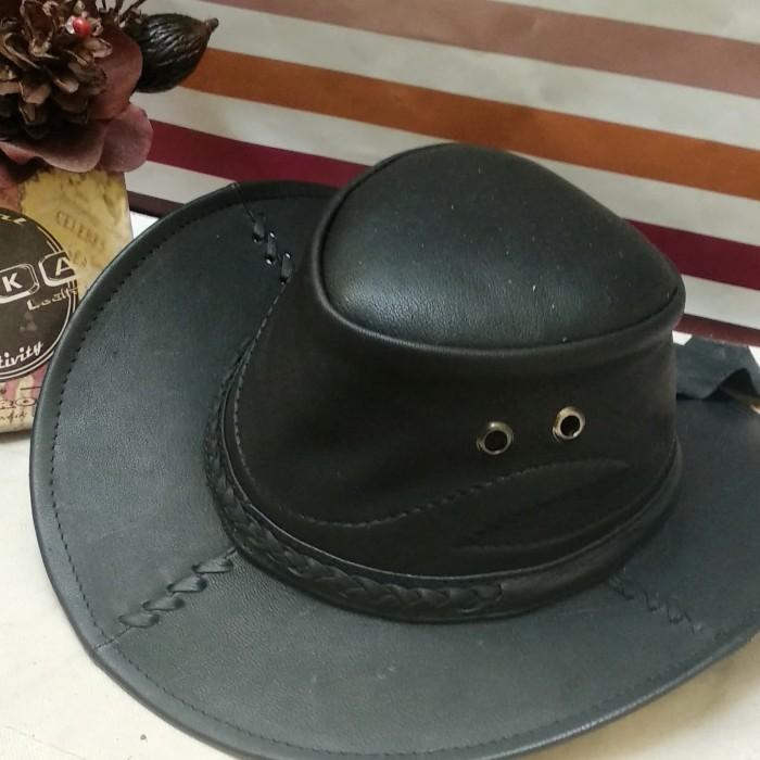 Jual topi asli kulit e6b802a362