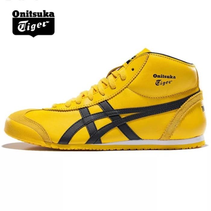 quality design e9eae b1136 Jual Onitsuka Tiger Mexico Mid Runner - Yellow/Black- Ready Size 43,5 - DKI  Jakarta - Yoles | Tokopedia