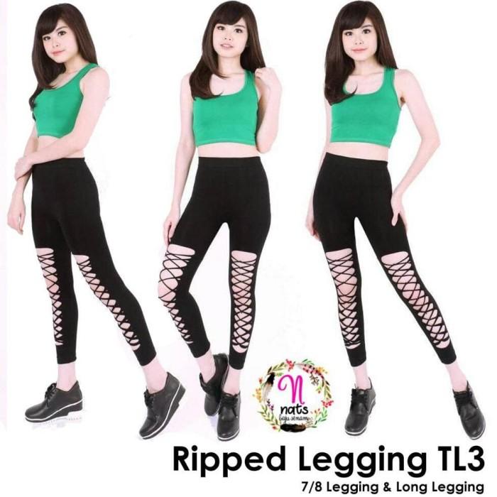 Jual Jual Legging Senam Celana Senam Legging Sobek Celana Zumba Jakarta Timur Dika Can Tokopedia