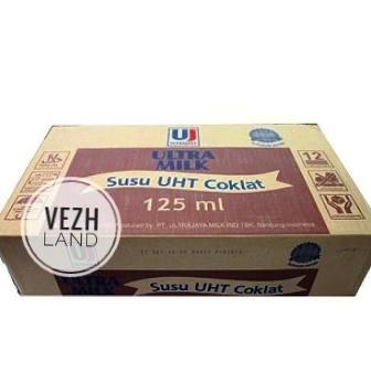 Foto Produk Susu UHT Ultra Chocolate 125ml (Grosir) (Gojek) dari vezhland