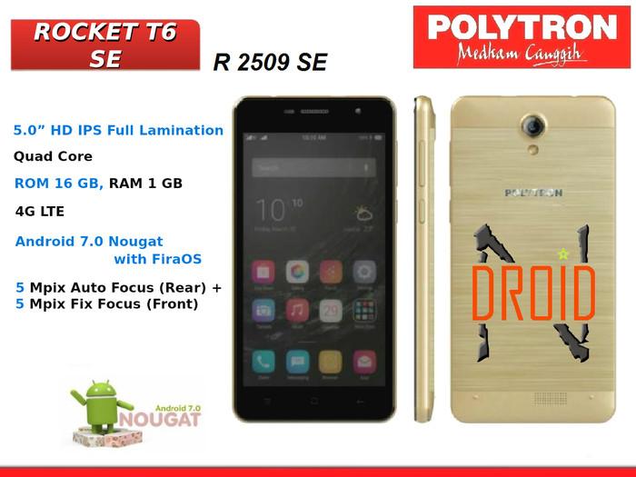harga Polytron r2509se t6se android 4g 5  ram 1gb rom 16gb Tokopedia.com