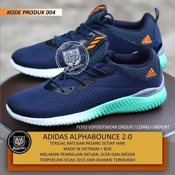 Jual Sepatu Sneakers Terbaru TERBARU 2018 ADIDAS ALPHABOUNCE 1M PRIA ... 6864f6fbb4