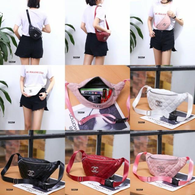 Jual Tas Chanel Waist Bag Lambskin Multifungsi WB5020   47418c8122