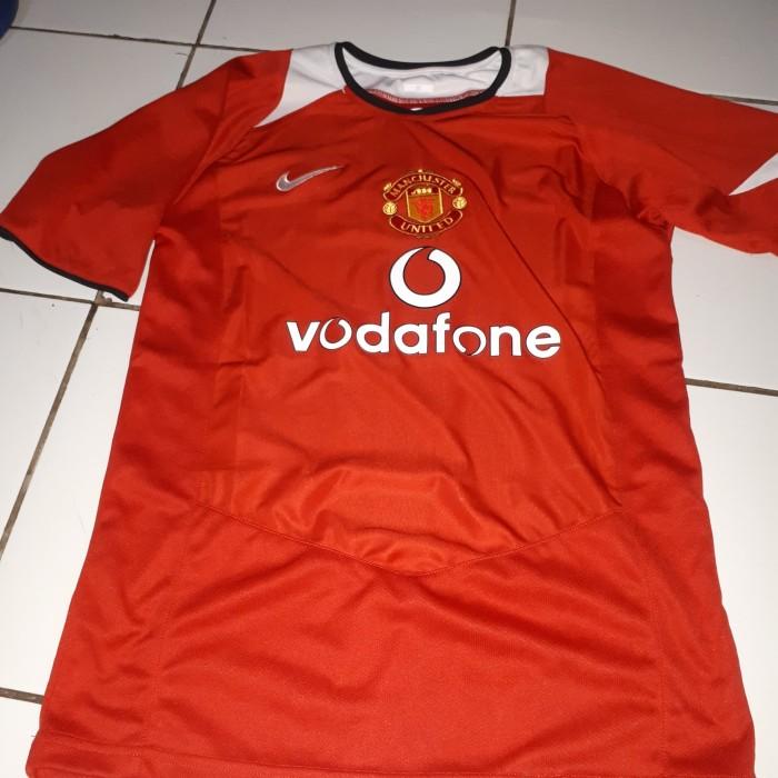 new concept 2ee72 ddb6c Jual Jersey retro manchester united 2004 2005 - Kota Tangerang - arga76 |  Tokopedia