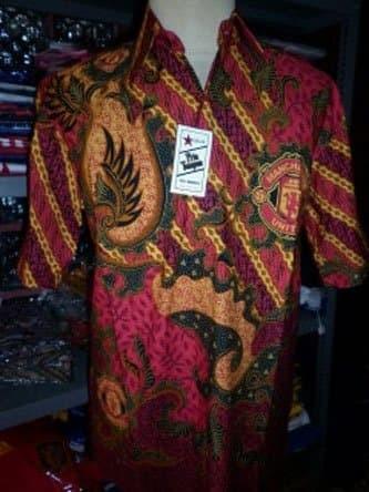 Jual Kemeja Batik Batik Bola Pria Tampan - Manchester United (Mu ... 8327ad9caa