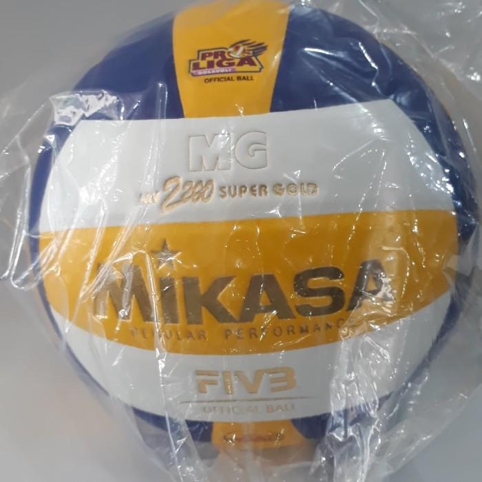 Bola voli   bola volley mikasa mv 2200 super gold e3fc9e6968