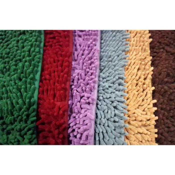 ... Hot Promo Keset Cendol Dof Ungu 40 X 60 Cm Karpet Bulu Doormat