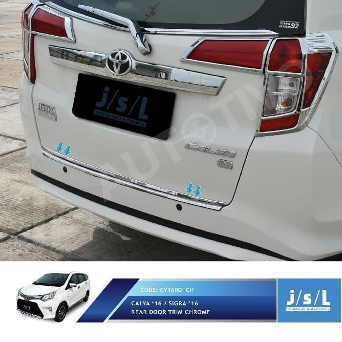 Jual Aksesoris Mobil Calya Sigra Rear Door Trim Chrome List Pintu Belakang Jakarta Selatan Alaika Lantabuur Tokopedia