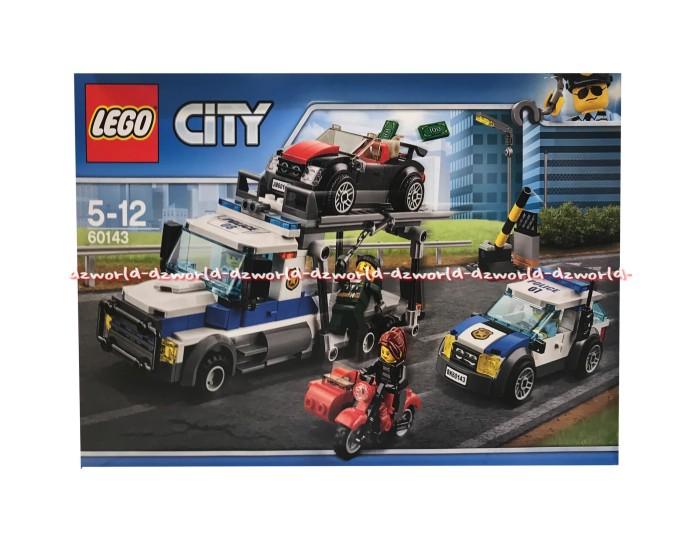 Jual Lego City 60143 Mobil Polisi Auto Transport Heist K13 Police
