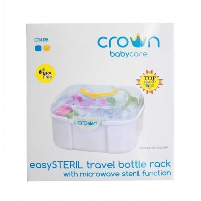 harga Crown easysteril travel bottle drying rack with cover Tokopedia.com