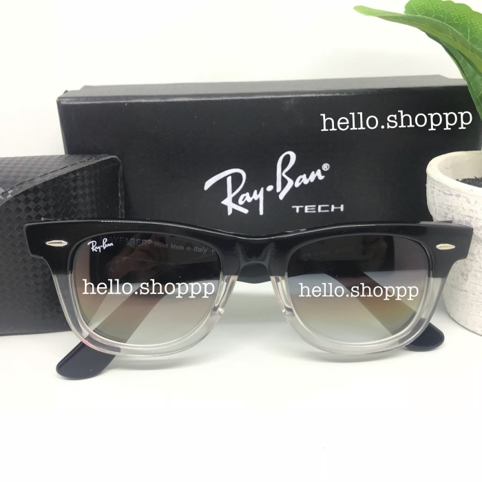 france new zealand kacamata rayban wayfarer two tone glossy black white  sunglasses 0451c 83f52 87bed 55a5d 084a8a748a