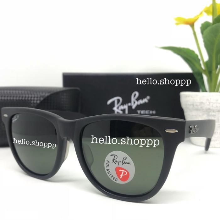 42c565d3fc5f00 ireland kacamata rayban wayfarer 2140 black doff polarized lensa besar size  54 6ea43 21d0a