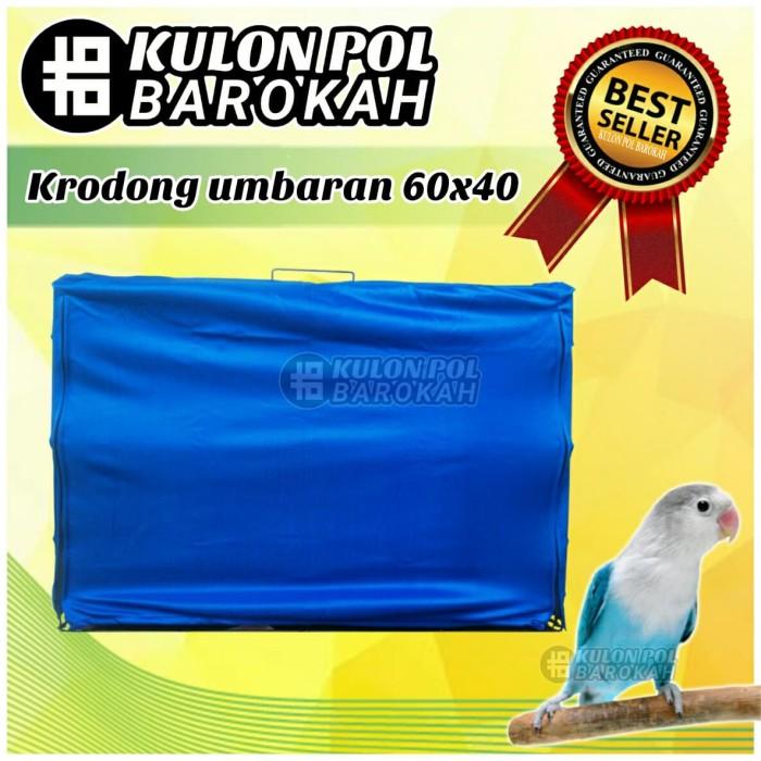 harga Krodong kerodong kotak sangkar umbaran besi burung 60x40 Tokopedia.com