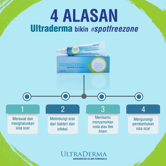 Ultraderma Gel Advance Scar Formula Atasi Bekas Luka Dan Jerawat - 5GR