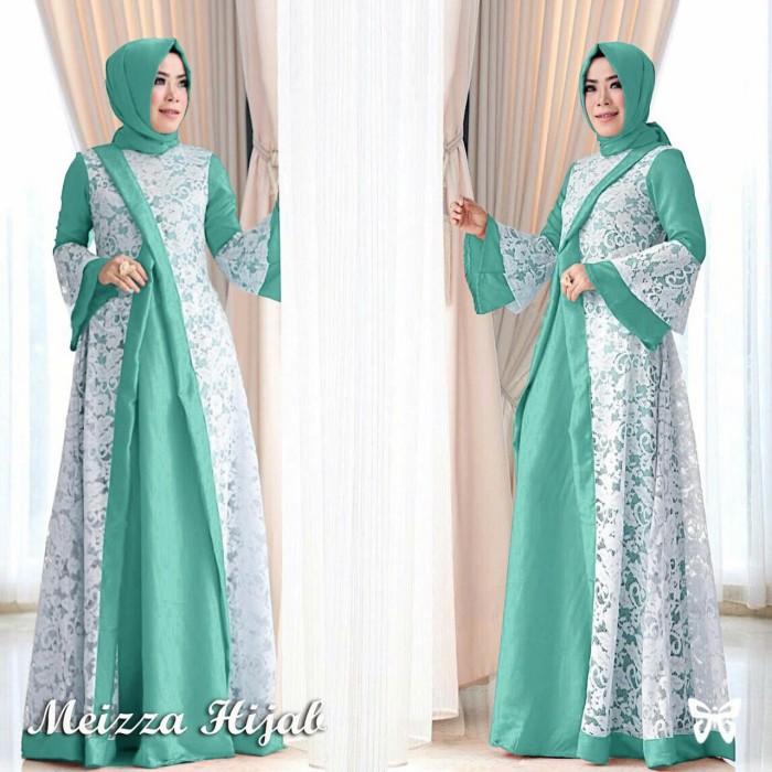 Katalog Muslim Online N4z8 Dress Meizza Gamis Mint Terbaru I5k8 - Blanja.com