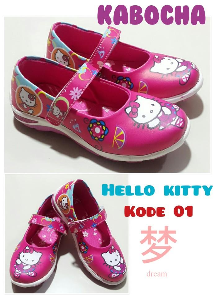 harga Sepatu anak perempuan kabocha hello kitty full pink Tokopedia.com