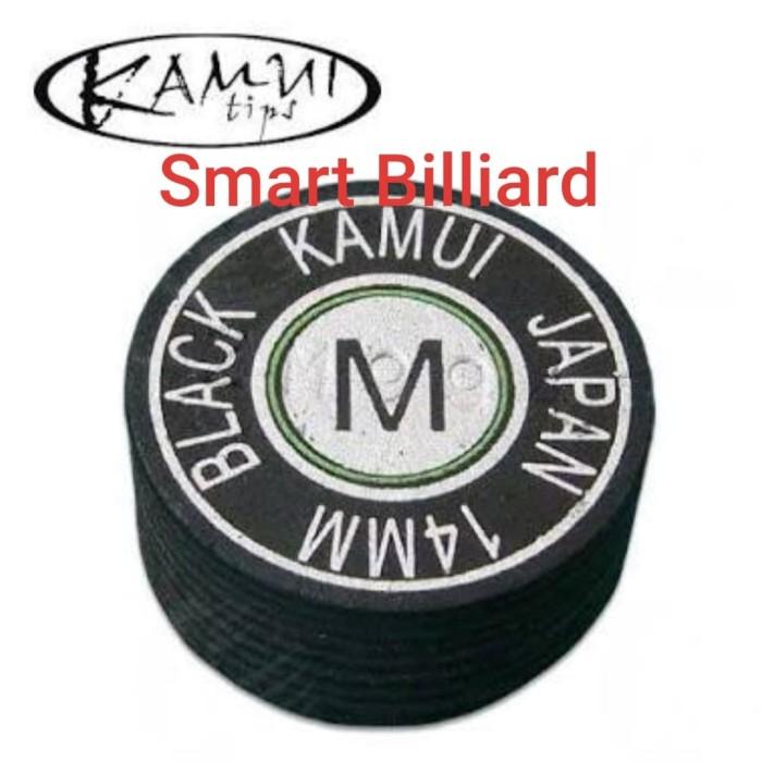 harga Cue tip kamui black 14 mm - m ( medium ) Tokopedia.com