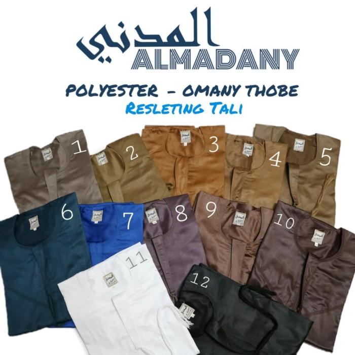 harga Al madany omani tali - jubah pria omany ikaf almadani gamis koko Tokopedia.com