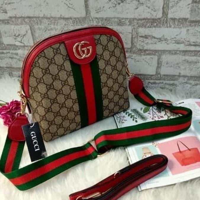 Jual Tas Selempang Gucci Alma Bcl Sling Bag Fashion Artis Tas Cewek ... 6cc1267047