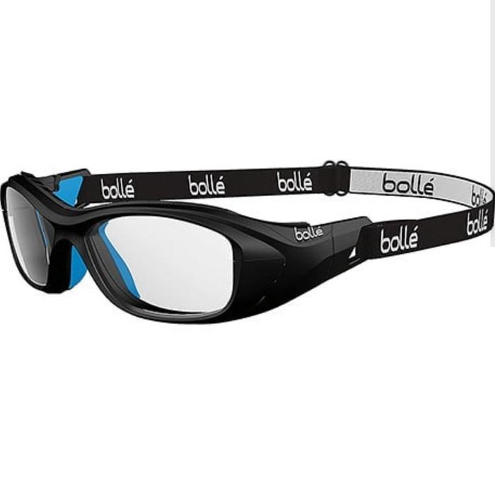 Jual Kacamata Safety Minus Bolle Swag Youth Black Blue dengan Lensa ... ae3ed63d48