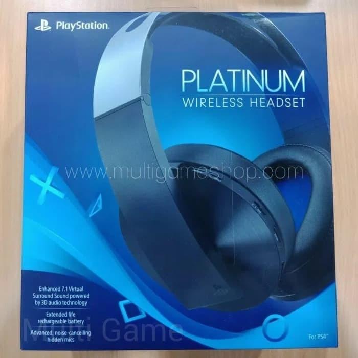 harga Platinum wireless headset ps4 Tokopedia.com