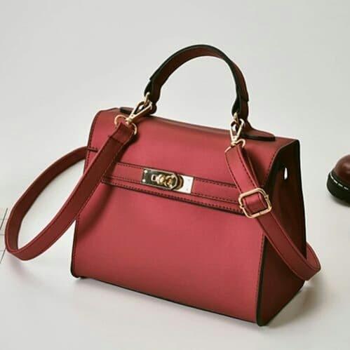Jual Tas Pesta Import Elegan - Merah - ViviiOlshop  d7f4828394