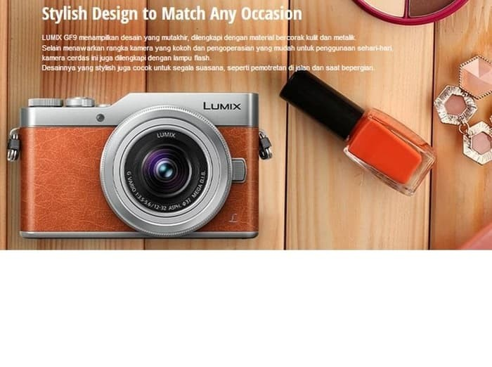 harga Kamera mirrorles panasonic lumix gf9 garansi resmi - hitam Tokopedia.com