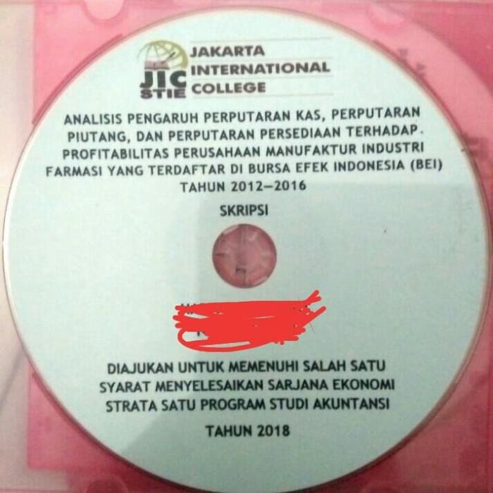 Jual Cover Cd Skripsi Jakarta Barat Cover Cd Skripsi Tokopedia
