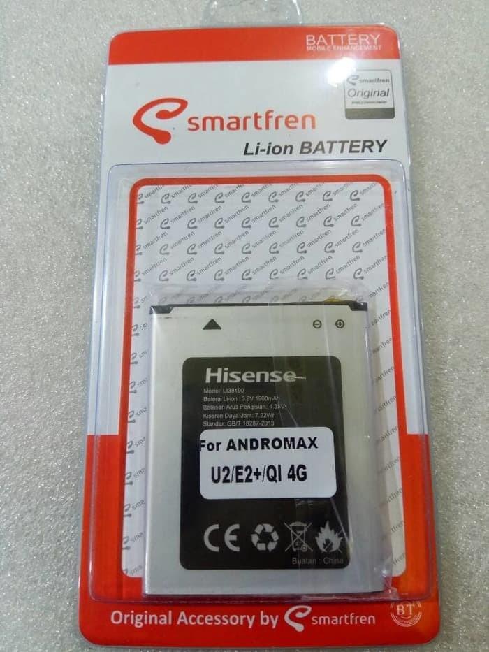 harga Baterai battery smartfren andromax u2 / e2+/ qi 4g lite ori Tokopedia.com