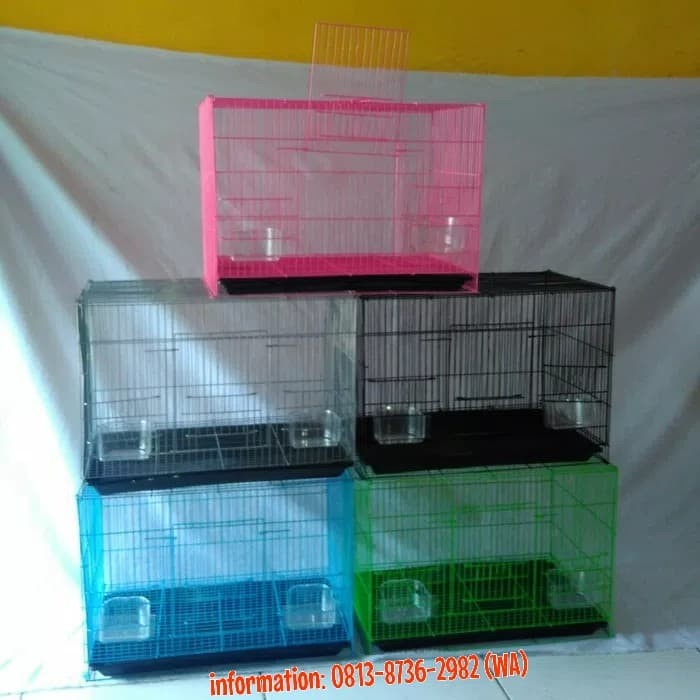 harga Kandang besi lipat utk kucing kitten / kelinci / sg / burung & lainnya Tokopedia.com