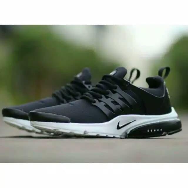 Sepatu Sneakers Pria Jogging Olah Raga Sport Nike Presto ORIGINAL - Hitam 2685795c2a