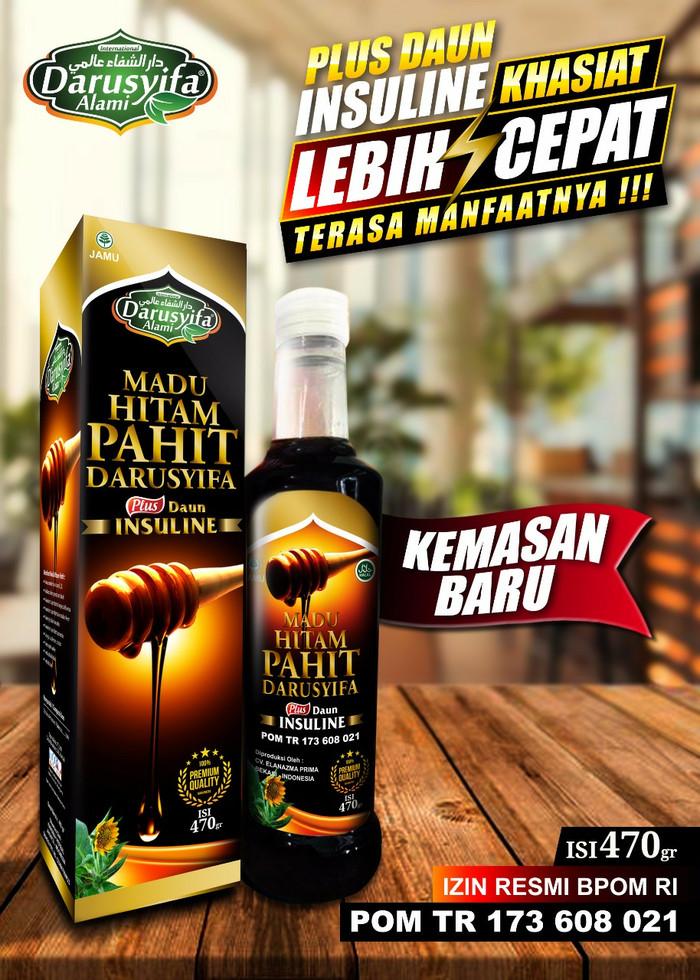 Foto Produk MADU HITAM PAHIT PLUS INSULIN OBAT DIABETES - JANTUNG - LIVER-KANKER dari Gudang Grosir Herbal