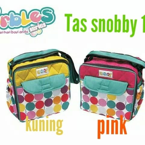 Tas bayi snobby/tas snobby baby kecil saku color mables size TPT 1573