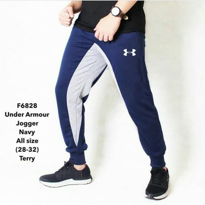 harga Celana jogger panjang pria gym fitnes sport lari senam Tokopedia.com