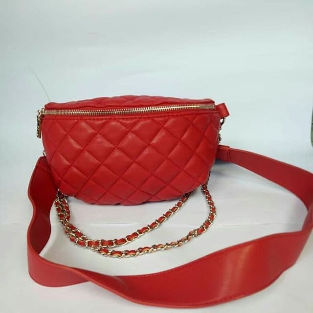 harga Tas steve madden belt bag bmandie red leather original Tokopedia.com