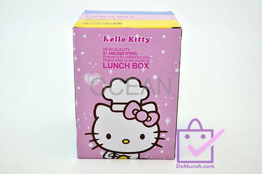 Rantang Susun Stainless Steel 3 Tingkat Lunch Box Karakter