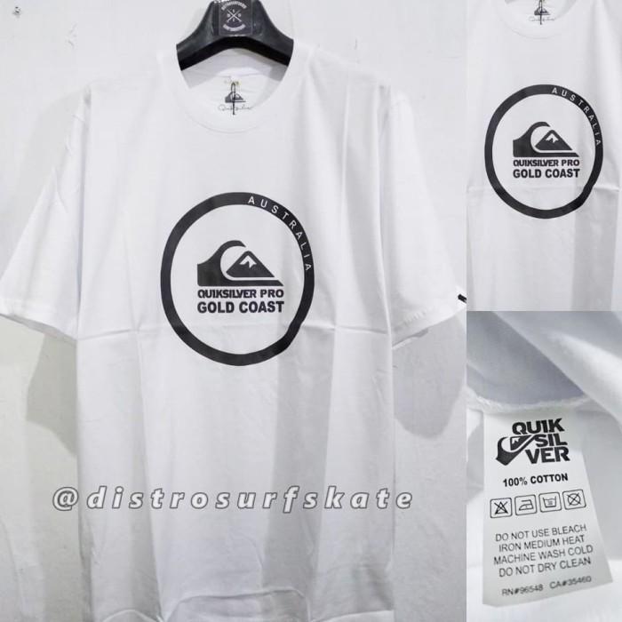 Kaos cowok Quiksilver / Kaos distro / kaos surfing skate premium 1017