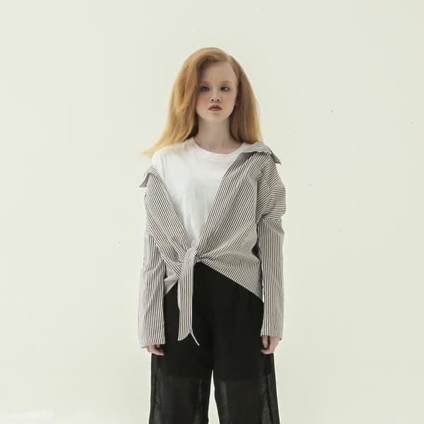 harga Nikicio cerpelai shirt outer striped brown (free size) Tokopedia.com