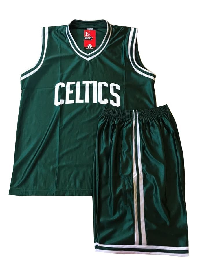 8075a22e4ef Jual SETELAN JERSEY BASKET NBA CELTIC GRADE ORI - ALLSIZE - Hijau ...