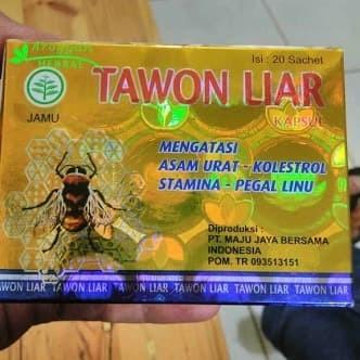 Jamu Tawon Liar 100% asli.obat pegal linu asam urat dan kolesterol
