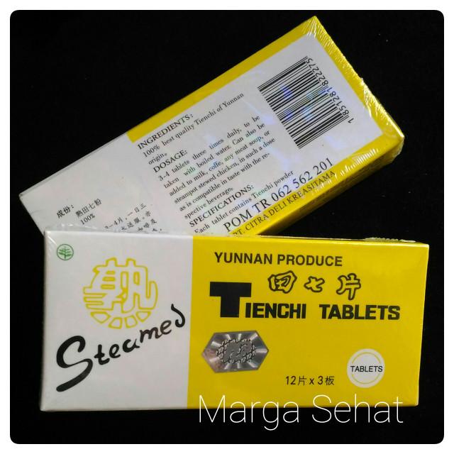 Foto Produk STEAMED TIENCHI TABLETS/ OBAT PENINGGI BADAN/ PERTUMBUHAN ANAK dari Marga Sehat