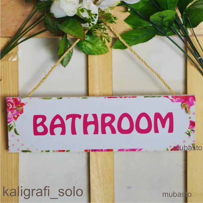 Jual Hiasan Dinding Gantung Bathroom Kamar Mandi 10x30 Free Tali Akar Kota Surakarta Muba Sto Tokopedia