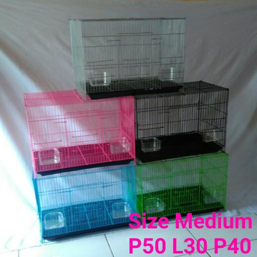 Jual Kandang Kucing Kitten Burung Smart 1 Ungu - Nd pets  7b6c4d1f75
