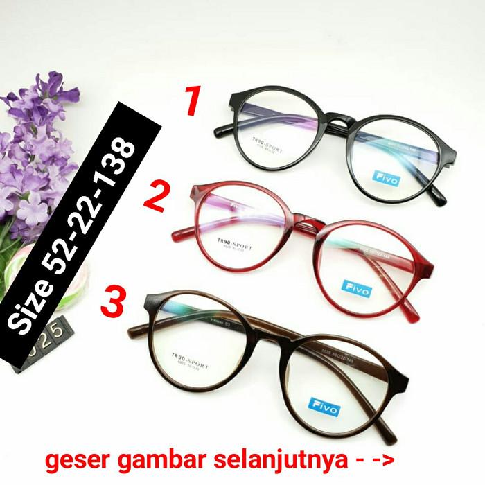 Frame Kacamata 6025 Kacamata Fivo Kacamata Korea b4b54883f6
