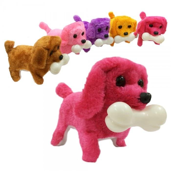 boneka anjing/robot anjing/mainan anjing/mainan unik/anjing goyang/dog