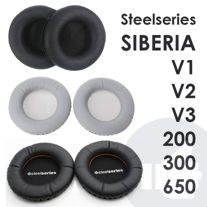 harga Foam headphone steelseries siberia v1 v2 v3 ear pad pads pengganti Tokopedia.com