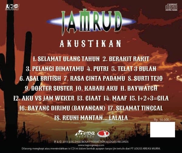 Top Five Jamrud Album Akustikan - Circus
